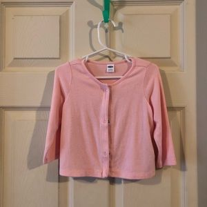 Pair of Old Navy baby cardigan sweaters